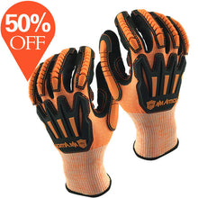 Load image into Gallery viewer, Anti Vibration Safety Work Glove and Shock Resistant Glove with Anti Impact Mechanics Working Gloves