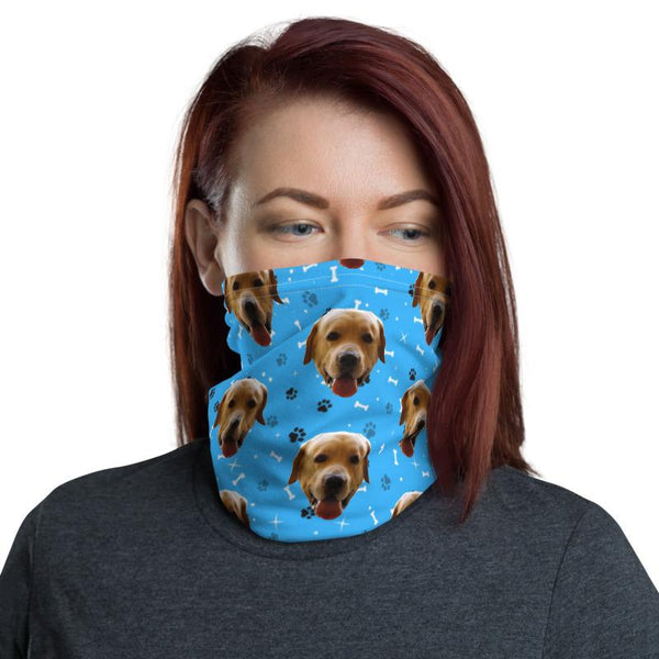 Mixbu Blue MixbuDog Face Covering