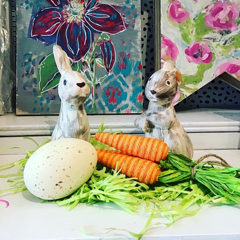 DIY Ceramic Bunnies