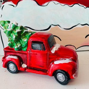 Ceramic Christmas Truck Kit