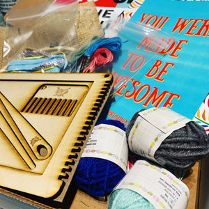 Kids' Weaving and Embroidery Kit