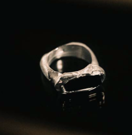 Elongated Stone Ring