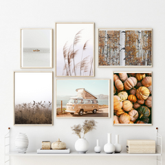 Fall Wall Art Set of 6 Posters
