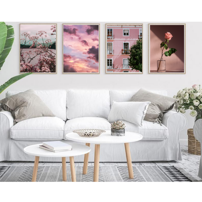 Aesthetics Wall Art Set of 4 Posters