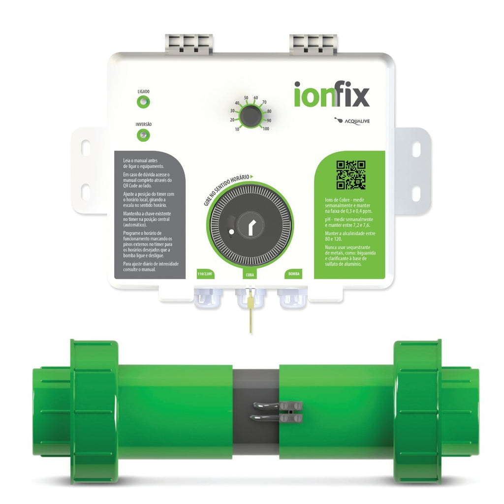 Alkaline Pool Ionizer IonFix Designed By Acqualive