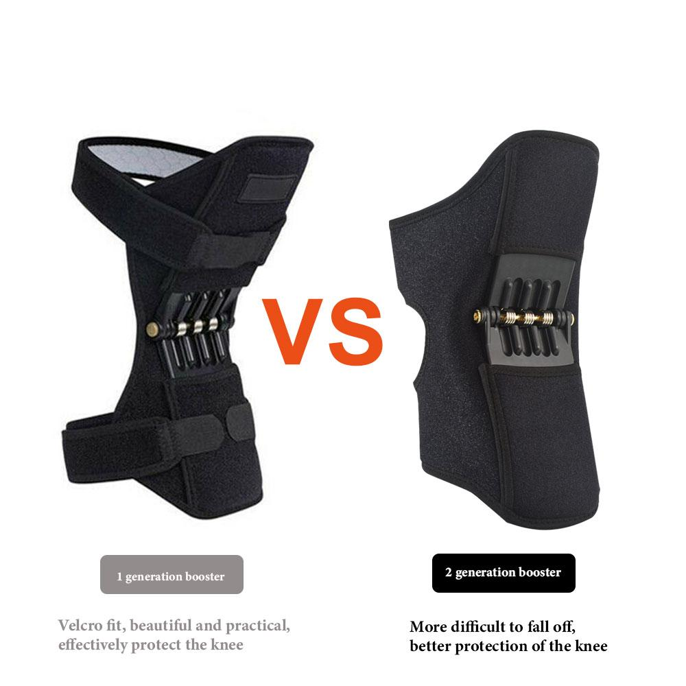 Upgraded version knee joint support pads Breathable Non-slip power knee stabilizer pads Climbing body well spring Sport knee - Go Healthy Club