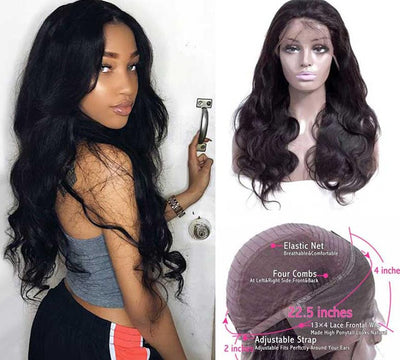 SHEBA LACE FRONT BODY WAVE HUMAN HAIR WIGS