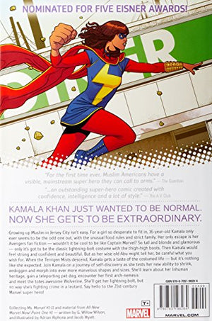 Ms Marvel Vol Now