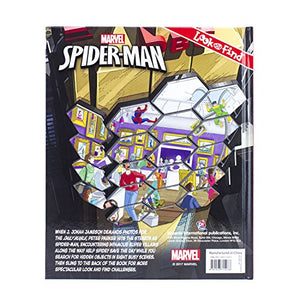 Marvel Spider Man Look Find Activity