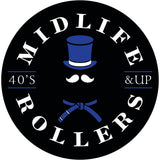 Midlife Rollers Blue Belt Phone Pop Grip / Stand