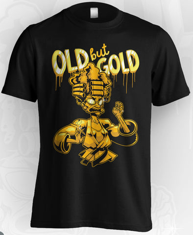 Midlife Rollers Golden Granny T-Shirt