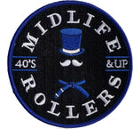 Midlife Rollers Blue Belt Patch