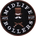 Midlife Rollers Brown Belt Patch