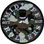 Midlife Rollers Camo Patch
