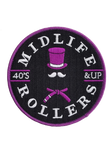 Midlife Rollers Purple Belt Patch
