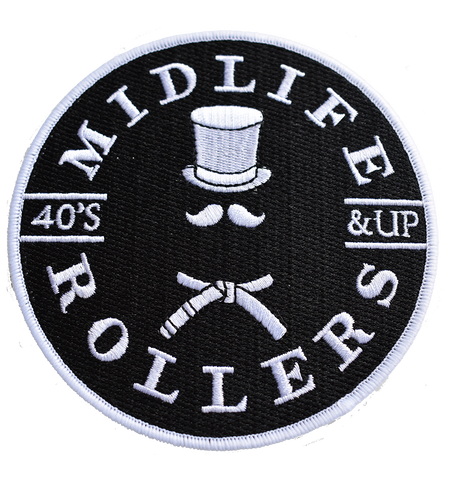 Midlife Rollers White Belt Patch
