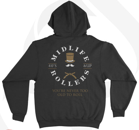 Midlife Rollers Mid-weight Hoody