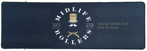"Midlife Rollers Mouse Pad 33.5"" x 10.5"""
