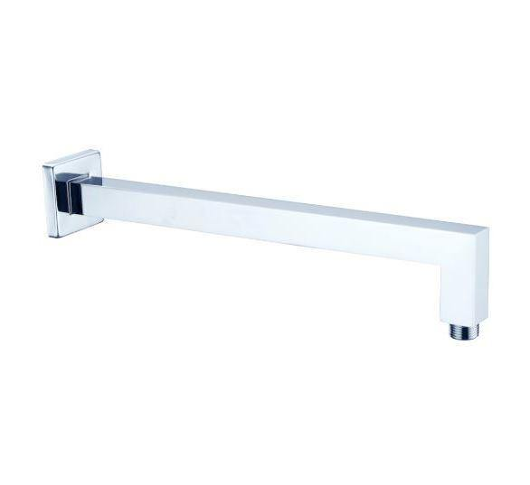 350mm Square Shower Arm- Brushed Nickel