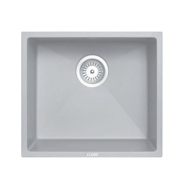 Concrete Grey 457 Single Bowl Granite Sink - Bayside Bathroom