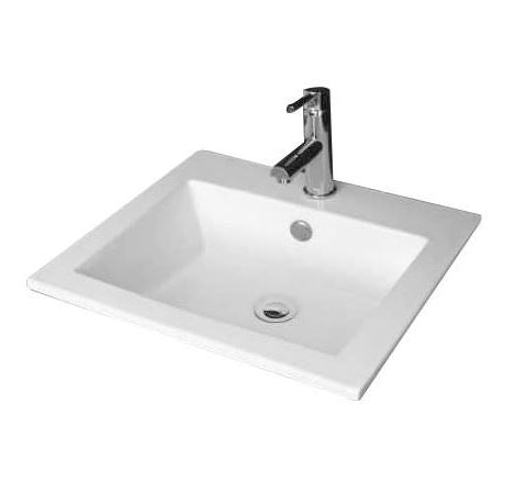 Rectanglo Semi - Insert Basin