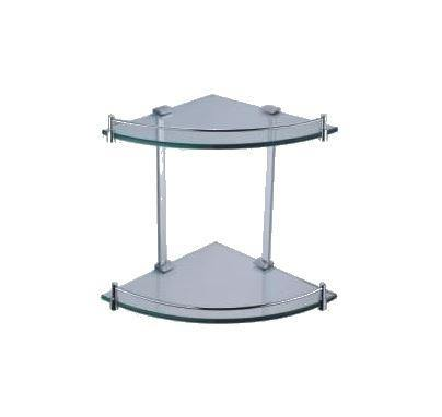 Linear Double Corner Shelf