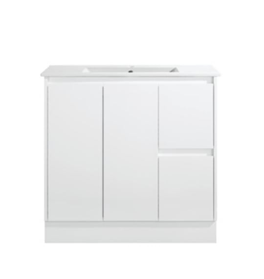 Sammy Narrow 900mm Floorstanding Vanity