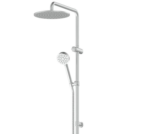Gisele Twin Rail Shower - Gunmetal