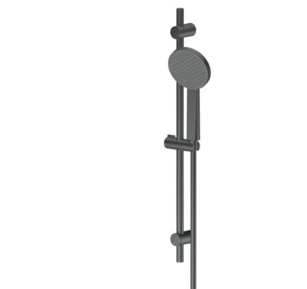 Glide Adjustable rail Shower - Matte Black