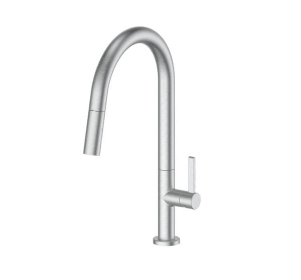 Luxe Pull out sink mixer - Gunmetal