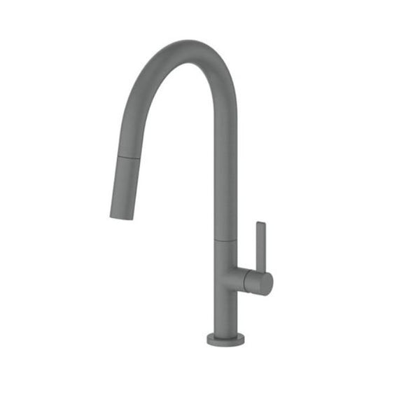 Luxe Pull out sink mixer - Brushed Nickel