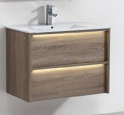 Neon 900 Vanity with Glass Top Basin