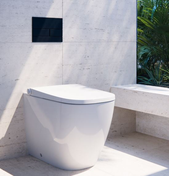 Neion Square Inwall Bidet intergated Pan