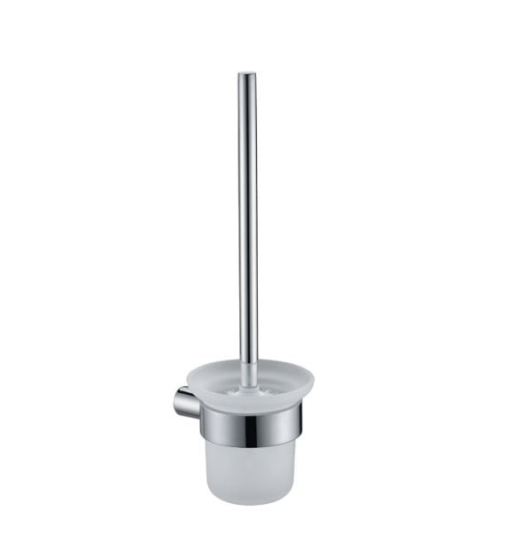 Olivia Toilet Brush Holder - Matte Black