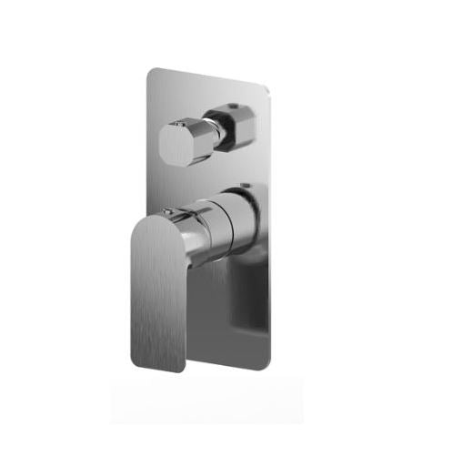 Olivia wall mxier w/ divertor- Brushed Nickel