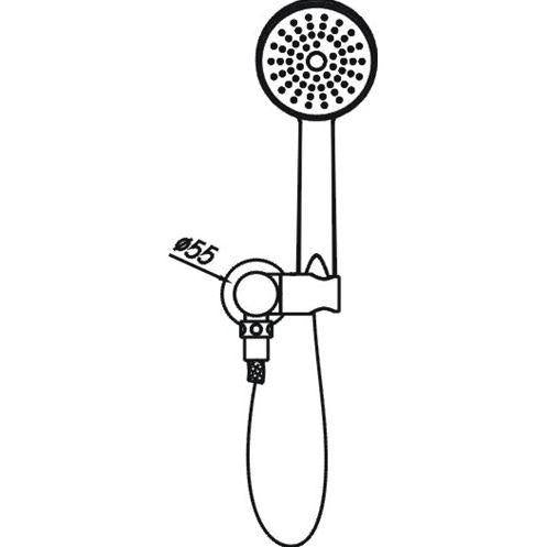 Rondo Hand Shower - Chrome