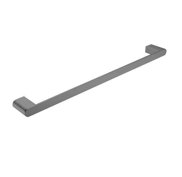 Ecco Single Towel Rail - Brushed Nickel