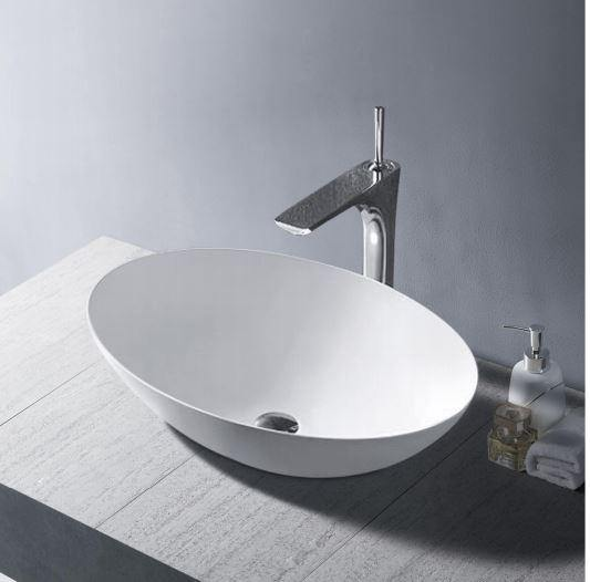 Amos Solid Surface Basin