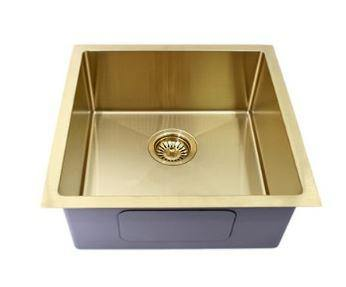 Brushed Gold 450 sink