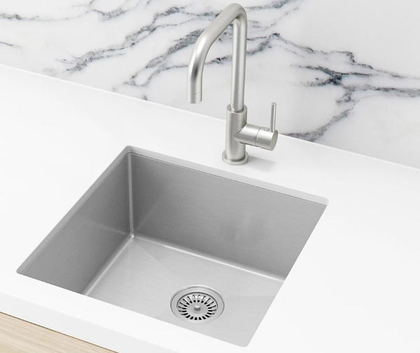 Meir Brushed Nickel 450 sink