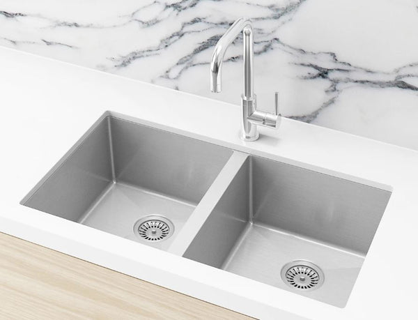 Meir Brushed Nickel 760 sink