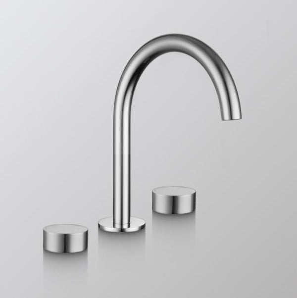 Element Basin Tap Set- Brushed Nickel