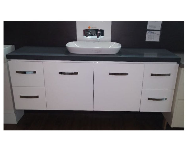 Elka Wall Hung Vanity With Stone Top 750- 1800mm