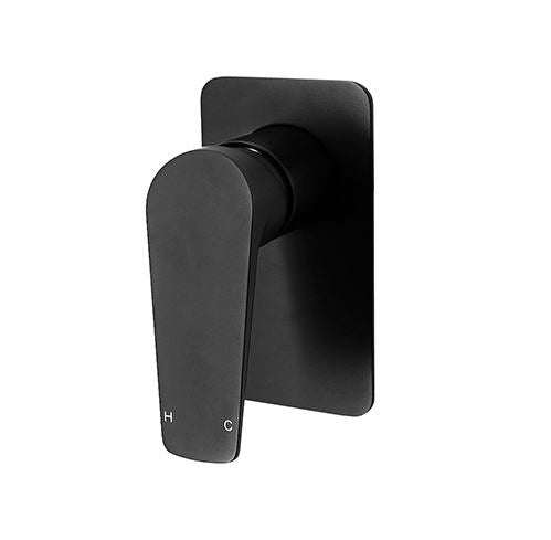 Exon Shower Mixer- Matte Black