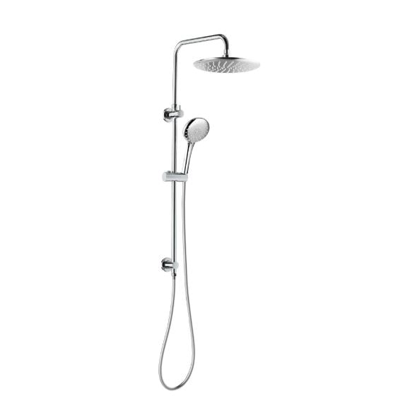 Loui Full Twin Shower set- Chrome