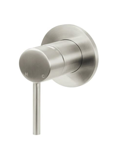 Meir Round Wall Mixer-Brushed Nickel