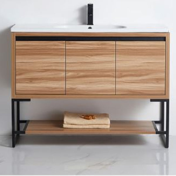 Timber Oak Vanity 600-1200mm
