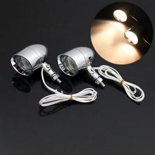 Load image into Gallery viewer, 1Pair Motorcycle Fog Light 5W Spotlight Lamp for Harley Cafe Racer Chopper
