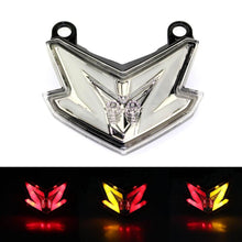 Load image into Gallery viewer, 3 Color Motorcycle LED Red Stop Light Taillight Rear Lamp For Kawasaki Z800 Ninja ZX6R 636 2013 2014
