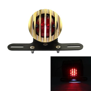 4 Colors Universal Motorcycle Rear Brake Stop Bracket Tail Light Lamp Taillight  For Harley Davidson